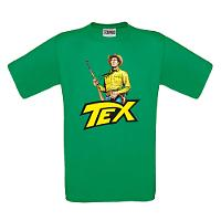 Tex t-shirt - Green
