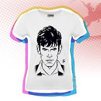 Dylan Dog Woman t-shirt - White