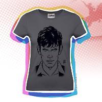 Dylan Dog Woman t-shirt - Grey