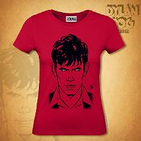 Dylan Dog Woman t-shirt - Red