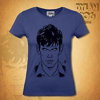Dylan Dog Woman t-shirt - Blue