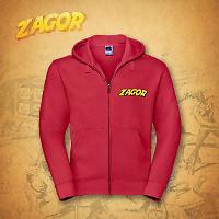 Zagor Hoodie - Red