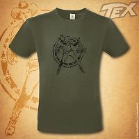 Tex t-shirt Ranger - Green