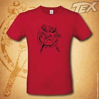Tex t-shirt Ranger - Red