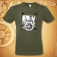 Zagor t-shirt Odissea americana - Urban Khaki