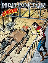 Mad Doctor Zagor 655/604 copertina