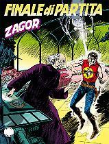 Finale di partita - Zagor 605/656 cover