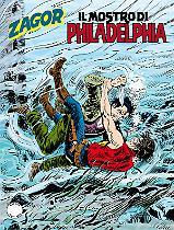 Il mostro di Philadelphia - Zagor 606 cover