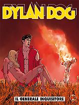 Il generale inquisitore - Dylan Dog 353 cover