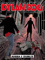 Miseria e crudeltà - Dylan Dog 354 cover