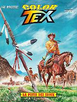 La pista dei Sioux - Color Tex 09 cover