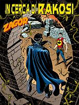 In cerca di Rakosi - Zagor 617 cover