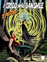 Il grido della Banshee - Zagor 620 cover