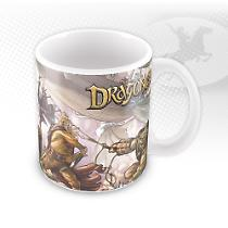Mug Dragonero Battle