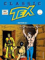 Satania! - Tex Classic 11 cover