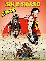Sole rosso - Zagor 625 cover