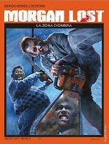 La zona d'ombra - Morgan Lost 23 cover