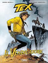 Il vendicatore - Tex Romanzi a fumetti 06 cover