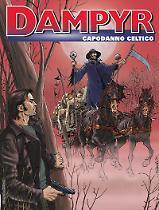 Capodanno celtico - Dampyr 213 cover