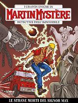 Le strani morti del signor Max - Martin Mystère bimestrale 355 cover