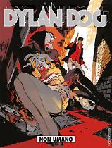 Non umano - Dylan Dog 377 cover