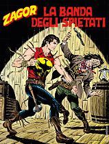 La banda degli spietati - Zagor 632 cover