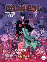 I conigli rosa muoiono - Dylan Dog Color Fest 25 cover