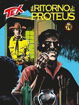 Il ritorno di Proteus - Tex 693 cover