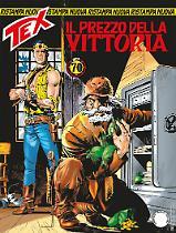 Il prezzo della vittoria - Tex Nuova Ristampa 435 cover