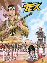 Painted desert - Tex Romanzi a fumetti 3 cover