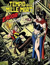 Il tempio delle mille morti - Zagor 640 cover