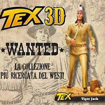 Tiger Jack. 3D figure
