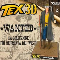 Jack Thunder. 3D figure