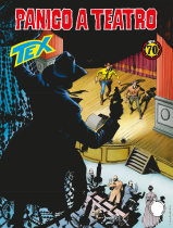 Panico a teatro - Tex 698 cover
