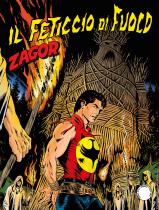 Il feticcio di fuoco - Zagor 645 cover