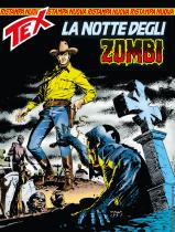 La notte degli zombi - Tex Nuova Ristampa 445 cover