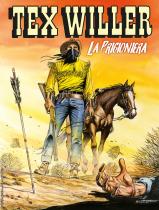 La prigioniera - Tex Willer 08 cover
