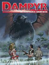 La compagnia guerriera - Dampyr 232 cover