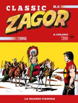 La grande pianura - Zagor Classic 06 cover