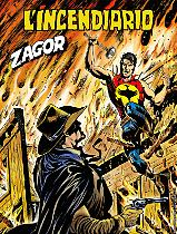 L'incendiario - Zagor 651 cover