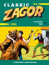 L'impronta misteriosa - Zagor Classic 08 cover