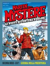 Guerra nella preistoria - Martin Mystère Le Nuove Avventure a Colori Seconda Serie 02 cover