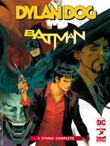 Dylan Dog/Batman cover