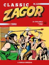 L'idolo oneida - Zagor Classic 12 cover