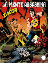 La mente assassina - Zagor 657 cover