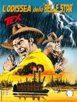 """L'odissea della """"Belle Star"""" - Tex 715 cover"""
