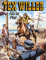 Fuga sul mare - Tex Willer 19 cover