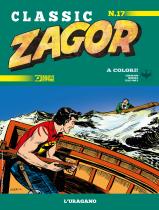 L'uragano - Zagor Classic 17 cover