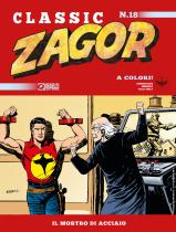 Il mostro d'acciaio - Zagor Classic 18 cover