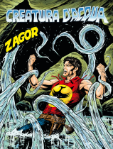 Creatura d'acqua - Zagor 662 cover